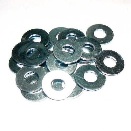 M10 Mild Steel Washer Form B Zinc Plated Packs of 10